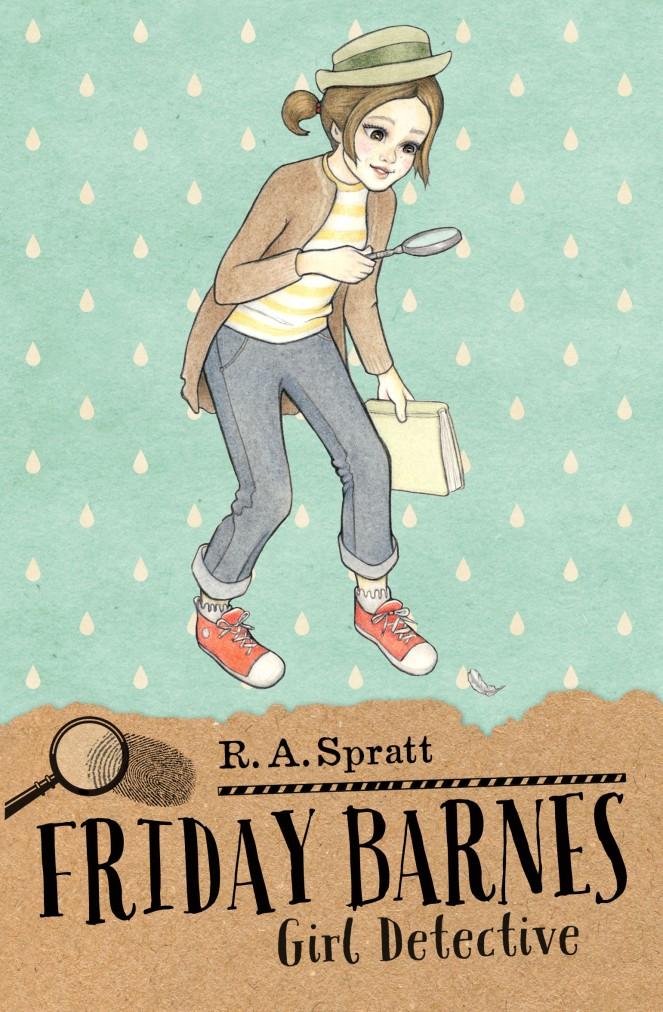 Introducing Friday Barnes: Girl Detective!